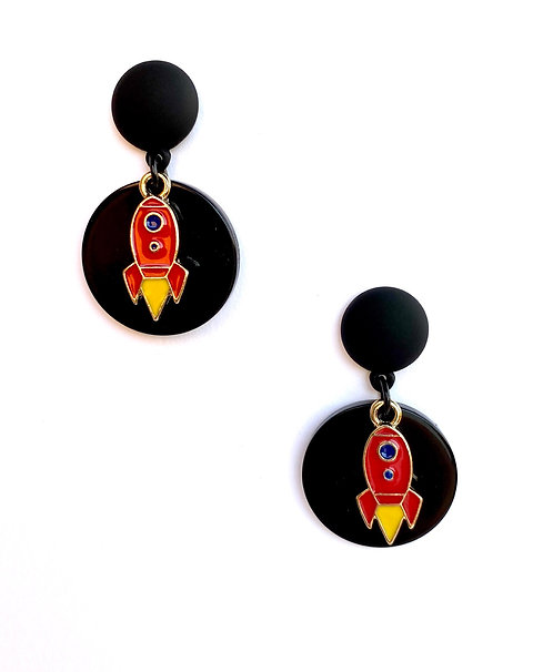 Rocketman Earrings