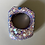 Thumbnail: SILVER & PURPLE GLITTER RING