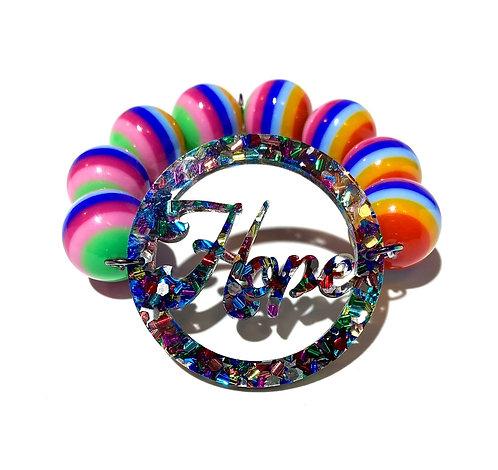 Confetti Hope Rainbow Bracelet