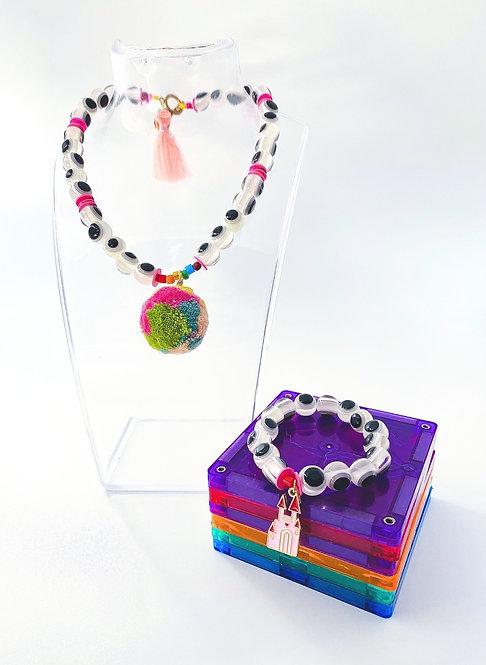 Poppy Bracelet & Necklace Set