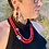 Thumbnail: Red Howlite Gemstone Necklace