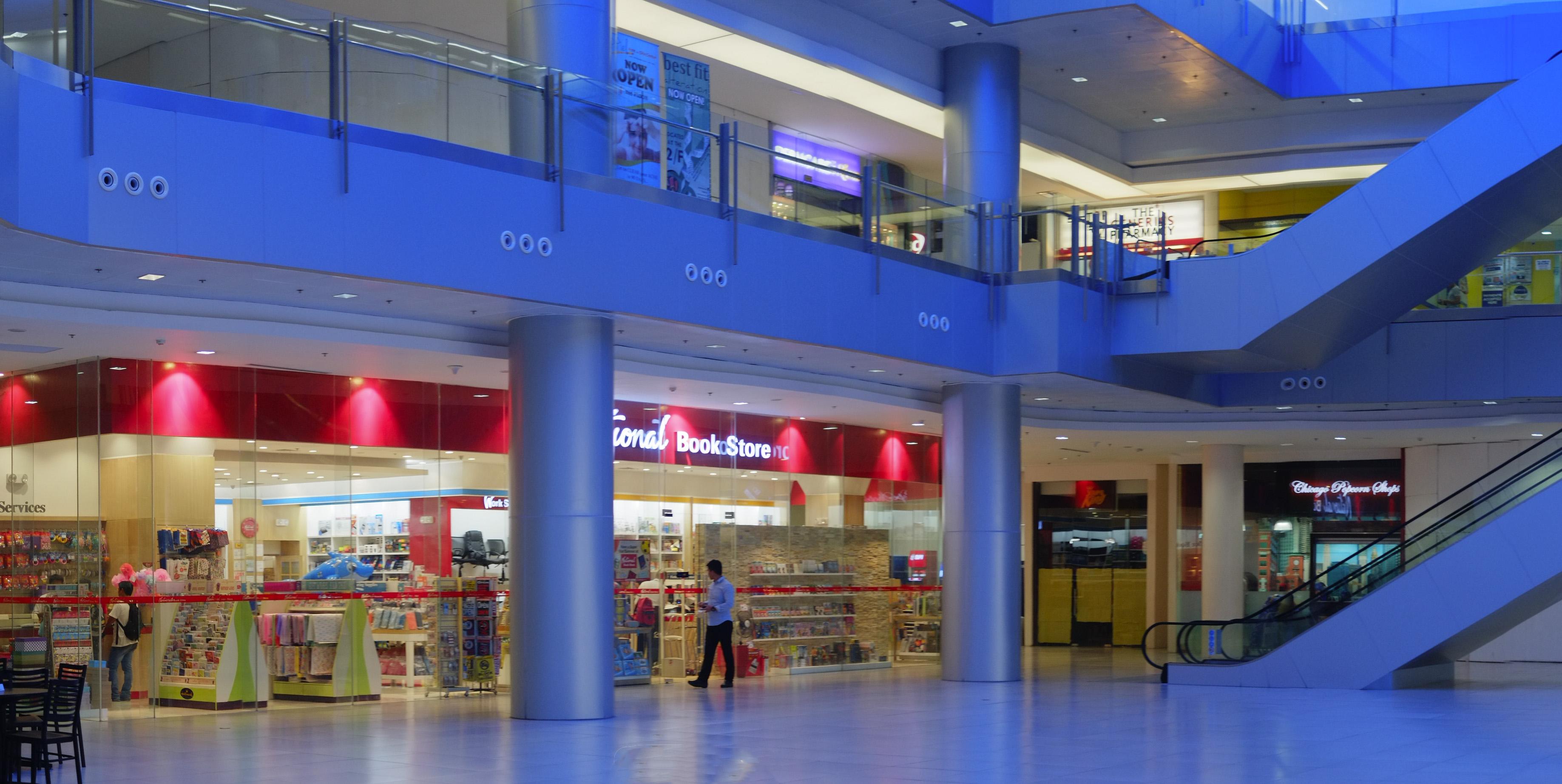 Upscale mall