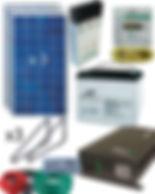 Kit solares de autoconsumo y aislada