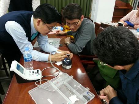 Kyungbook University Seminar and Hands-on training