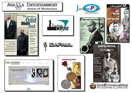 Graphic Designs by David Emmanuel Noel