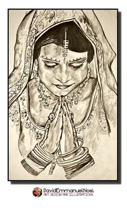 David Emmanuel Noel- Indian Bride