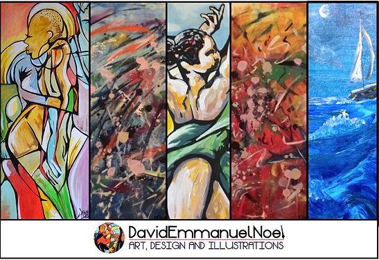 Artwork by David Emmanuel Noel