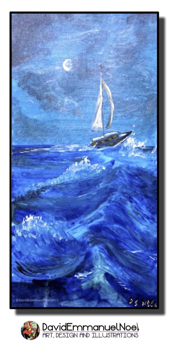 David Emmanuel Noel- Rough Seas