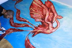 Phoenix mural 2