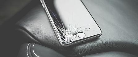 cracked phone