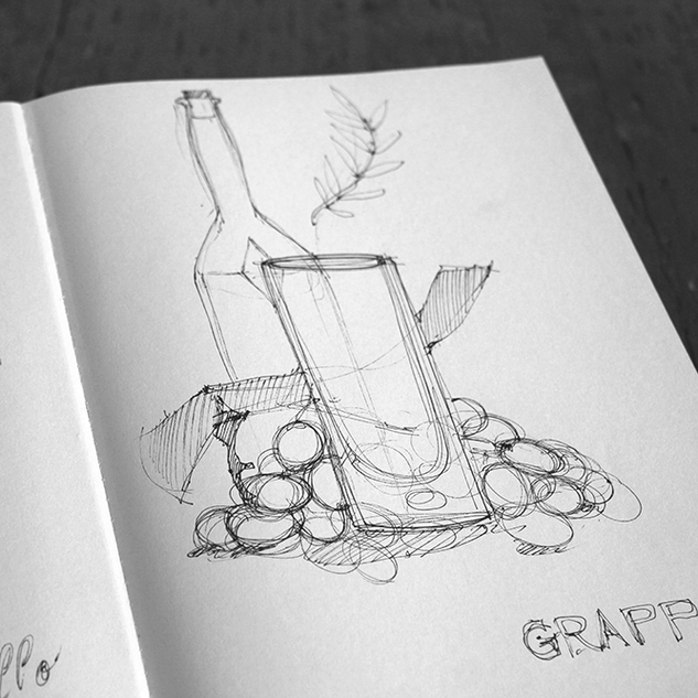 Sketch of grappa