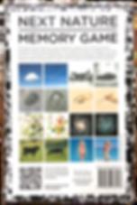 Next Nature Memory Game box back
