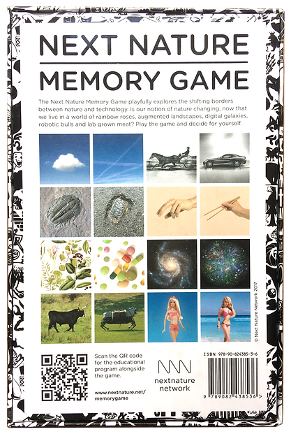Next Nature Memory Game box back