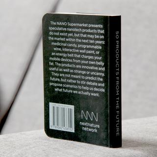 Nano Supermarket book back