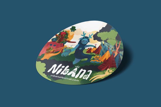 Nibana sticker