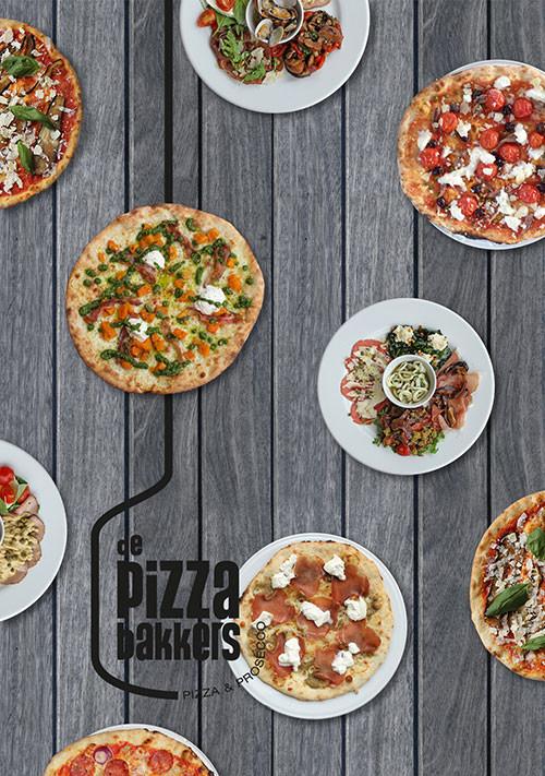 DePizzabakkers - postcard