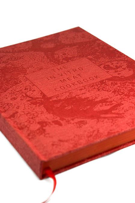 In Vitro Meat Cookbook cover detail