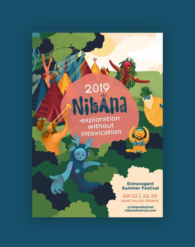 Nibana poster