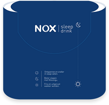 NOX Sleep Drink - 3pack design - front view