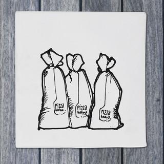 Illustration - flour - DePizzabakkers menu