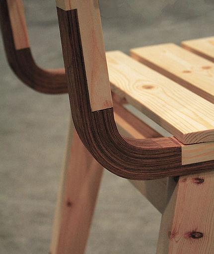 Curvy chair detail