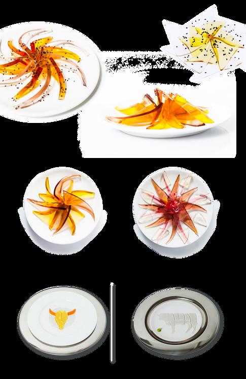 See-through Sashimi