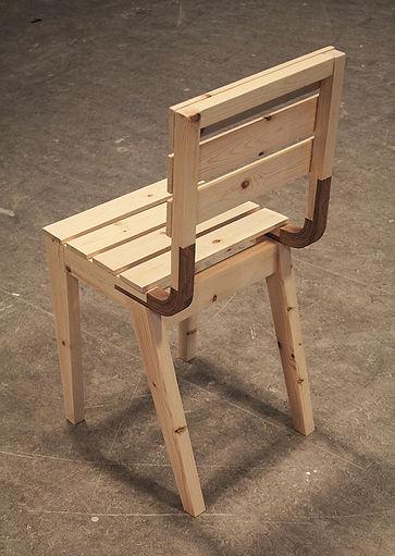 Curvy chair back