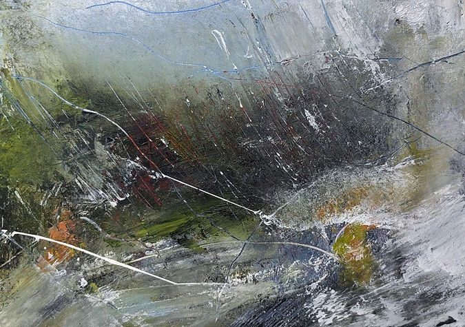 Storm Lashing The Glen -Len Mackin