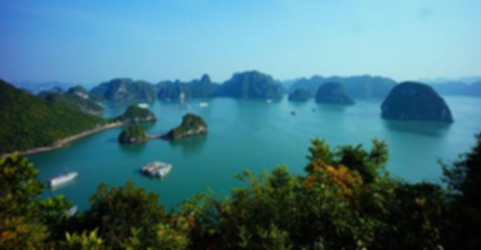 Bai di Halong, Vietnam