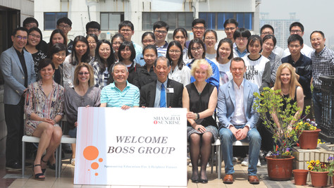 BOSS Group Hosts Annual Student Lunch
