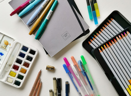 These are the 7 best art materials for beginners