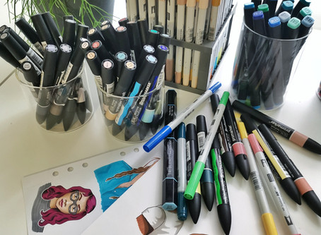 Alcohol-based markers: 5 things you should know before you start!