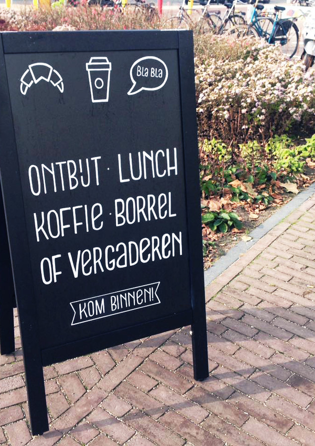 Chalkboard O-café
