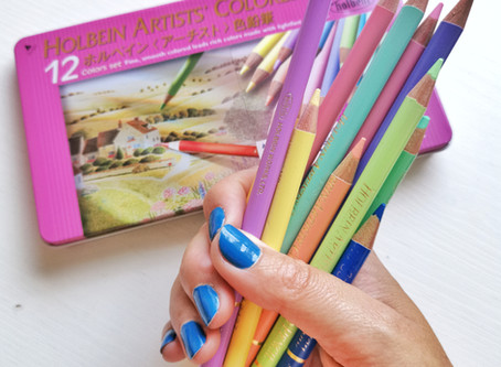 Review: are the Holbein colored pencils worth their money?