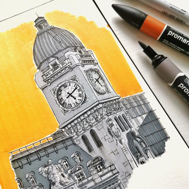 Urban Sketching_Illustration NienkeVlett