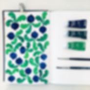 Illustration pattern