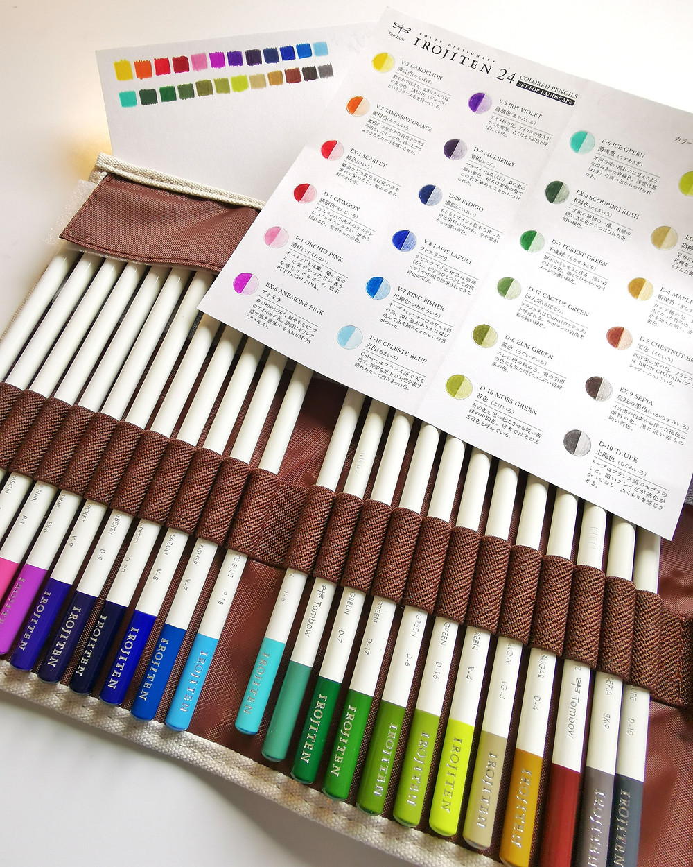 Tombow Irojiten 24 set