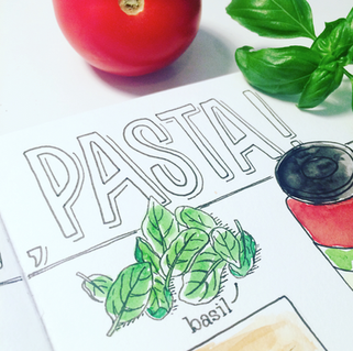 Illustration 'Pasta'