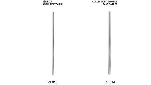 Série ZT  /  ACIER INOXYDABLE