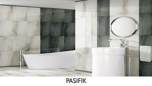 """PASIFIK /  12.5"""" x 25.5""""  --  pied carré"""