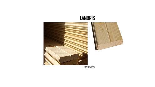 LAMBRIS / ESSENCES / COULEURS