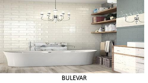 "BULEVAR /  4"" x 12"" --  pied carré"