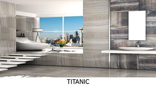 """TITANIC /  24"""" x 24""""  --  pied carré"""
