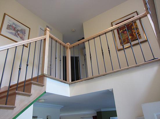 Escalier en Érable