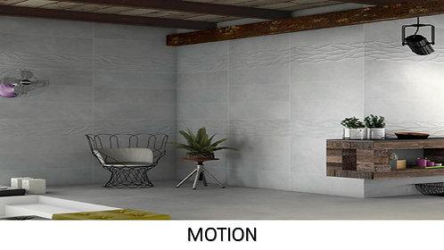 """MOTION / 11.5"""" x 35.5"""" --  pied carré"""