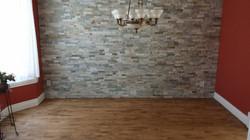Plancher / Mur de pierre