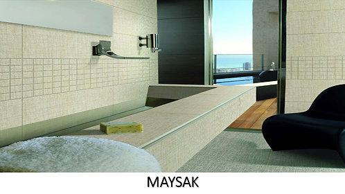 "MAYSAK /  24"" x 24"" -- pied carré"