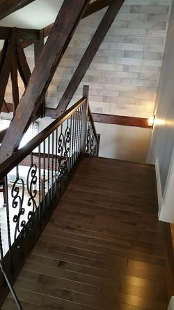 Escalier en Merisier