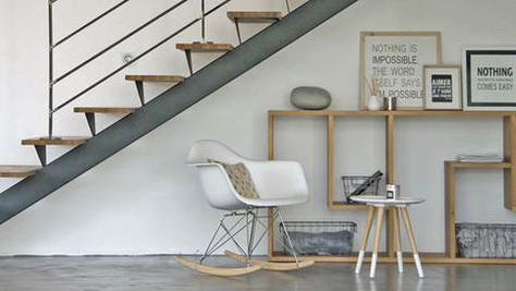 Des escaliers très inspirés!