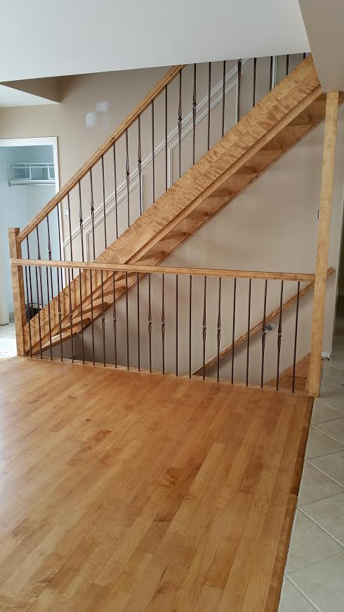 Plancher et escalier